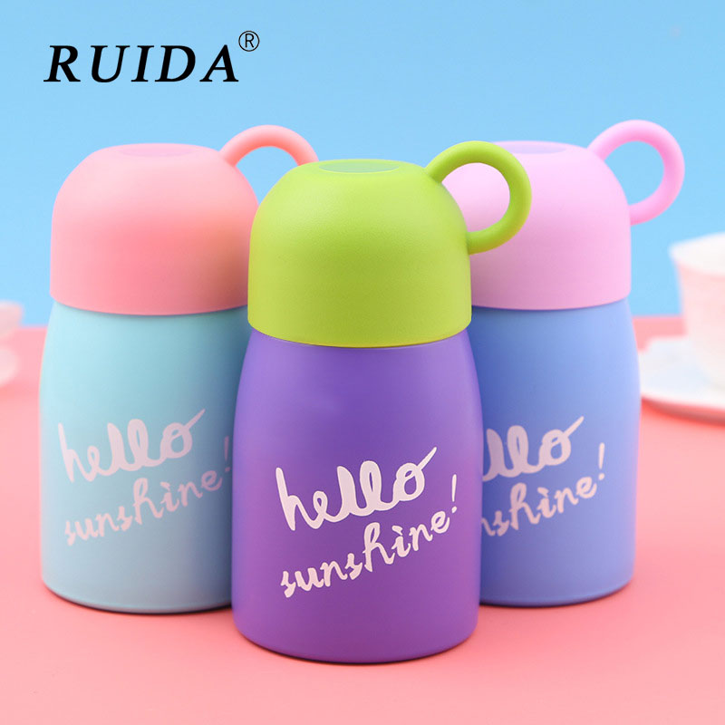 Stainless Steel Vacuum Flasks Coffee Mug Leakproof Thermo Bottle Milk Cup Portable Outdoor Sport Thermal Bottle Travel Thermocup