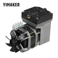YIMAKER AC 220V 80W Oilless Diaphragm Vacuum Pump Electric Mini 33L/Min Vacuum Flow