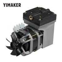 YIMAKER AC 220V 80W Oilless Diaphragm Vacuum Pump Electric Mini 33L/Min Vacuum Flow