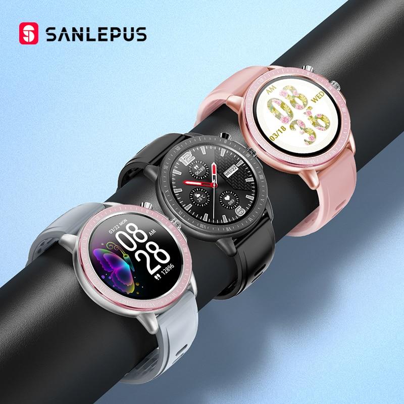 2020 SANLEPUS глобальная версия Смарт часы IP67 водонепроницаемые Смарт часы для мужчин и женщин фитнес браслет для Android iPhone xiaomi|Смарт-часы|   | АлиЭкспресс