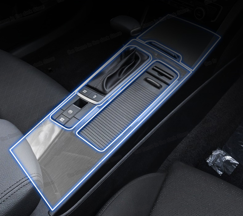 Lsrtw2017 TPU Car Central Control Gear Dashboard Film Protective Sticker For Kia K5 Optima 2016 2017 2018 2019 Anti-scratch