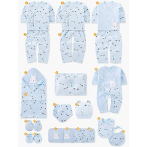 Image 5 - Newborn Baby Clothing Set Gift Baby Girl Boy Clothes 19 Pieces Infant Baby Clothing For Spring & Autumn Cotton Toddler Clothes