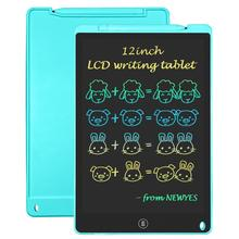 Drawing tablet 12 inch LCD writing board electronic Handwriting pad thin message Graphics sketch board kids gift rainbow screen
