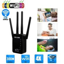 WR16 Wifi Repeater Wireless Router WLAN Signal Amplifier 2.4G ISP WiFi Range Extender Booster PIX-Link 300Mbps WISP/ Router/ AP