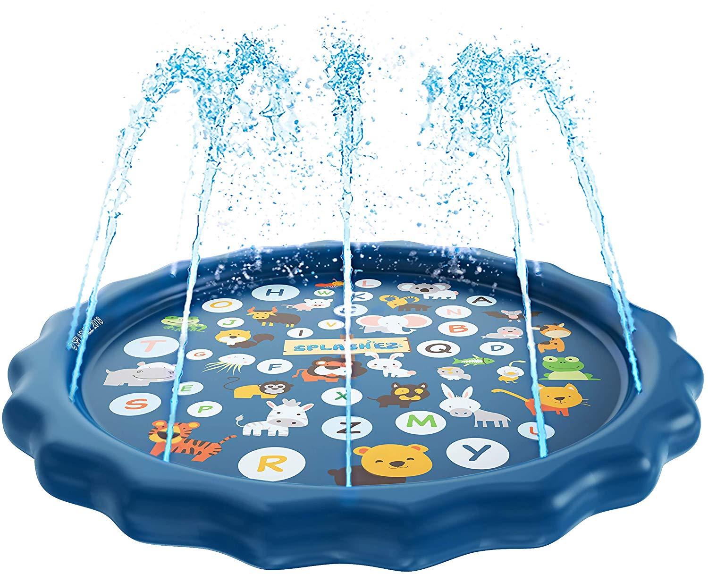 Sprinkler For Kids Splash Pad Wading Pool For Learning Children's Sprinkler Pool  Inflatable Water Toys Outdoor Swimming Pool