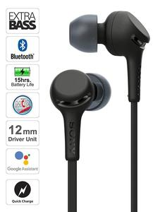 Image 3 - SONY original Wi Xb400 Wireless In Ear Extra Bass Headphones with Bluetooth quick charge 12mm drivers