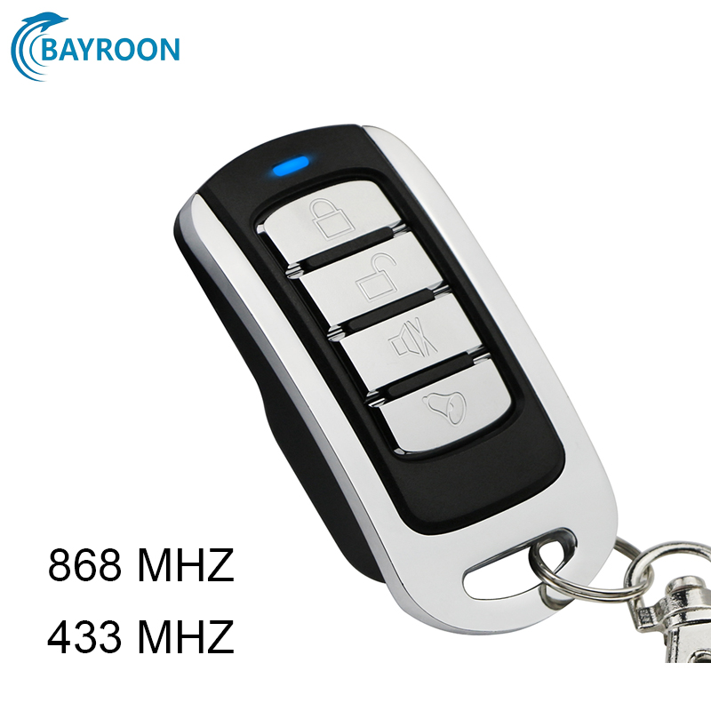 868MHz 433MHz Door Remote Control Garage 315 MHz Key Duplicator For Gate Remote Control Garage Rolling Code Command 433 868 MHZ