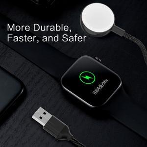 Image 5 - Per Apple iWatch 1 2 3 4 5 Orologio Senza Fili del Caricatore Del Basamento Del Bacino Veloce Base di Ricarica Wireless Portatile Cavo di Ricarica per il iPhone