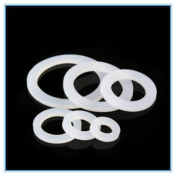 10pcs o-rings Water heater seal 1/2 3/4 1 silicone gaskets The silicone seal Avirulent insipidity image