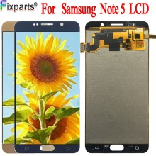 TFT For Samsung Galaxy NOTE 5 N920 N920F LCD Display Touch Screen Digitizer Assembly Note5 Replace 57 For SAMSUNG NOTE 5 LCD