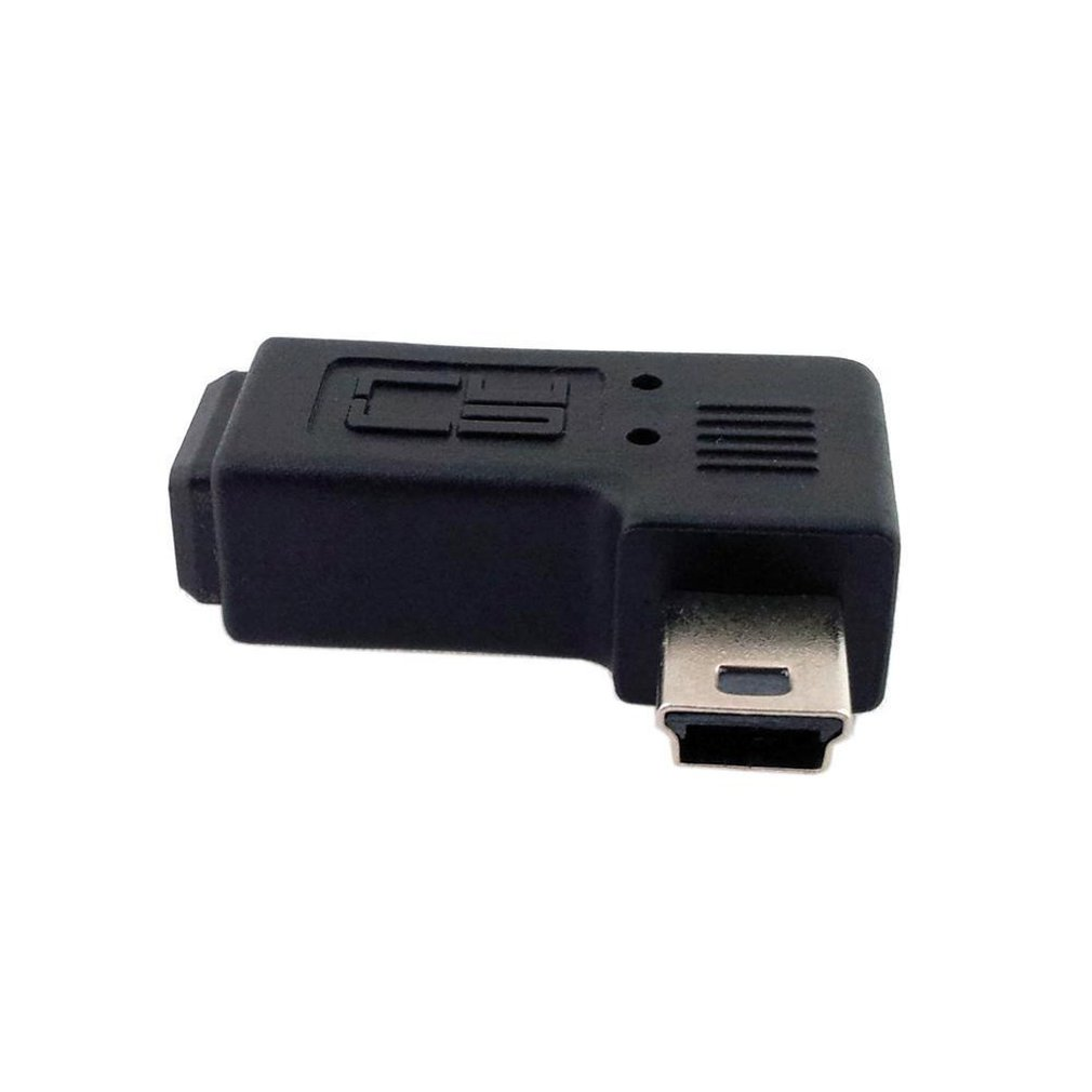1 Pair Micro Usb Male To Micro USB Female 90 Degree Angle Converter Connector Data Sync Charger Adapter For Tablets Phones Cable