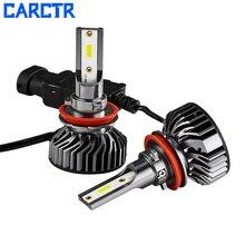 CARCTR Car Led Light H1 H4 H7 Headlights Bulbs Auto Headlamp 9005 9006 H11 9012 H3 Car Light 30W 8000LM 6500K LED Lamps for Cars цена 2017