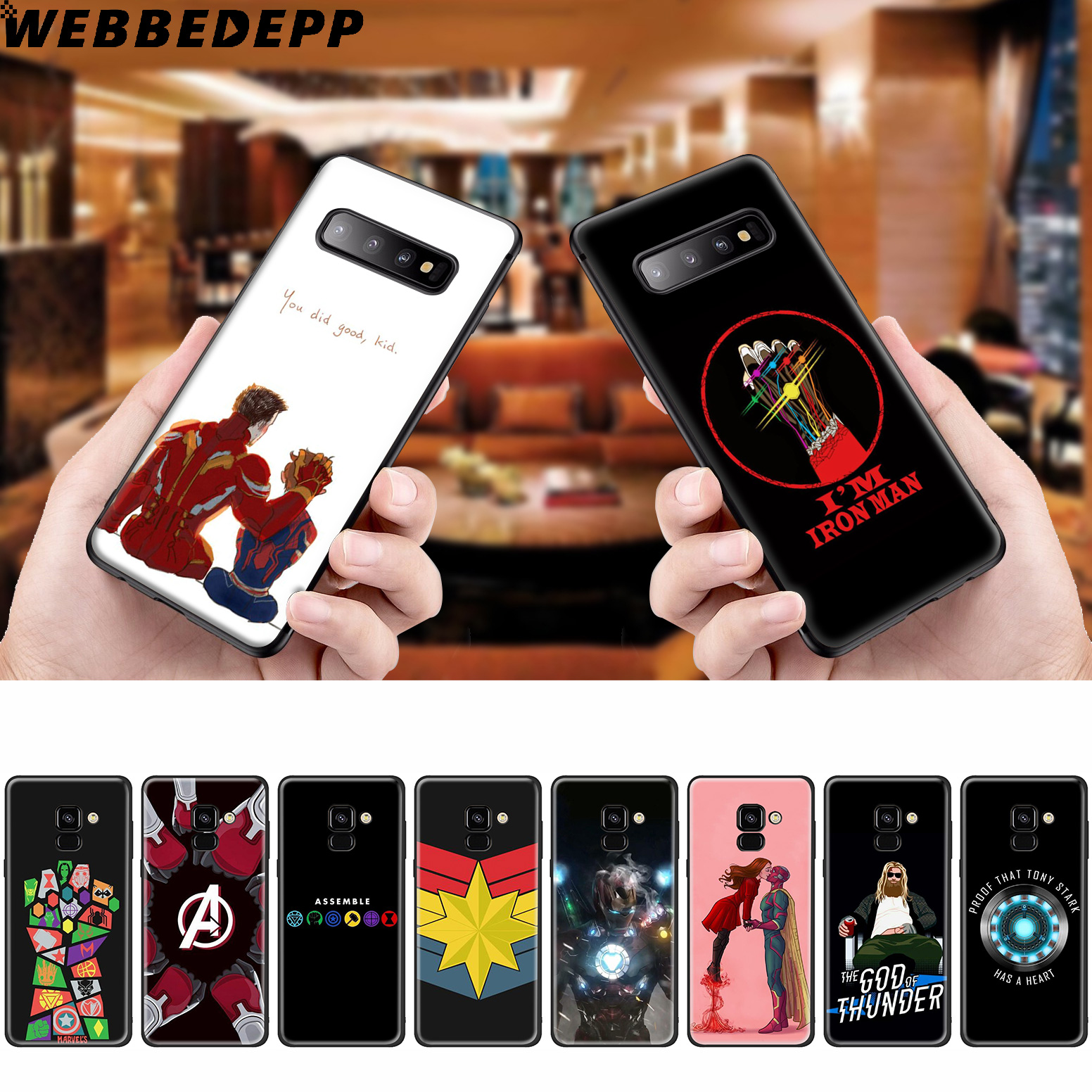 <font><b>Marvel</b></font> Comics <font><b>logo</b></font> Soft <font><b>Case</b></font> for <font><b>Samsung</b></font> <font><b>Galaxy</b></font> A50s A40s <font><b>A30s</b></font> A20s A10s Phone <font><b>Case</b></font> Cover Soft TPU image