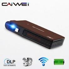 Портативный DLP проектор с поддержкой Full HD/WiFi/Авто ± 50 ° коррекция Keystone/аккумуляторная батарея/большой 3D проектор DisplayMini