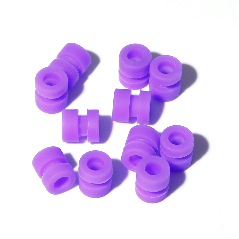 20PCS IFlight M2x5.6 M2 M2 M3 M3x6.6 Anti-vibration Standoff Rubber Damping Ball For Flight Controller RC Drone
