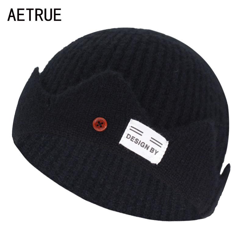 Short Skullcap Skullies Beanies Women Winter Beanie Hat Men Winter Hats For Women Caps Miki Bonnet Skull Women Knitted Hat Cap