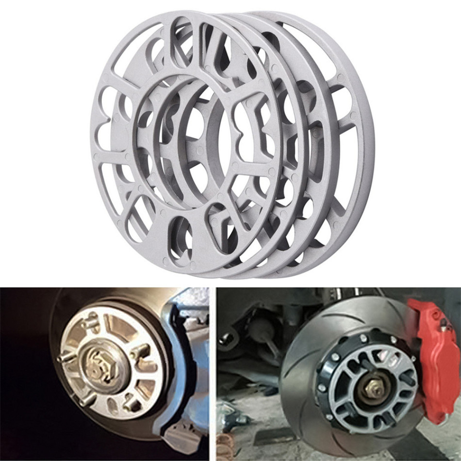 4PCS Universal 3mm 5mm 8mm 10mm Aluminum Car <font><b>Wheel</b></font> <font><b>Spacer</b></font> Shims Plate Fit 4x100 4x114.3 5x100 5x108 <font><b>5x114.3</b></font> 5x120 New 2020 image