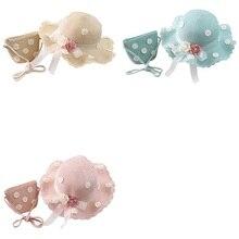 Hat Children's Girls with Handbag-Bags Kids Boy Sun-Protection Daisy Straw-Hat Flower