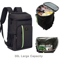 DENUONISS Brand Insulated Cooler Bag Large Capacity Backpack Bag Portable Travel Food Backpack Waterproof