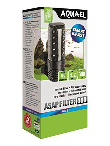 Aquael 5905546194952 Filter ASAP Für Aquarien, 300 L/H
