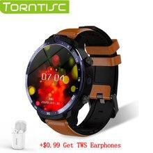Torntisc LEM12 PRO Smart Uhr Neue WIFI GPS Drahtlose Projektion Dual Kameras 400*400 Auflösung 4 + 64G benutzerdefinierte Gesicht für Android 10