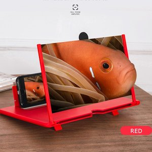 Image 2 - 최신 끌어 오기 Typer 휴대 전화 증폭기 3D 효과 고화질 대형 스크린 데스크 홀더 확대 영화 게임에 대 한 접는