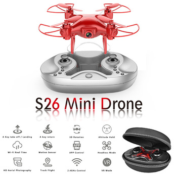 Mini unmanned aerial vehicle aerial photography HD four-axis aircraft pressure fixed height remote control aircraft