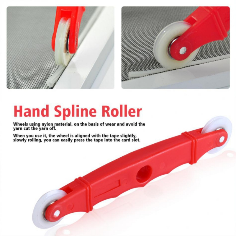 Rolling Tool Hand Spline Roller Window Rollers Screen Rolling Tool For Installing Window Door Screens Window Plastic Pro