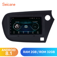 Seicane Car radio Multimedia Player 7 inch Android 8.1 auto Stereo GPS For Honda Insight 2009 2010 2016 Right Hand Drive 2Din