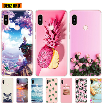 For Xiaomi Redmi Note 5 global version Case Silicon Soft TPU Back Cover For redmi note 5 pro Phone shell protective coque bumper image