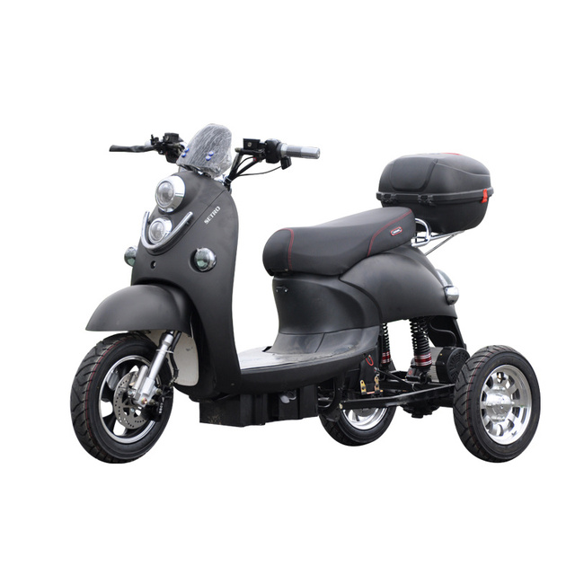 Adult Vespa Tricycle Fat Tire Electric citycoco Scooter With Seat Kcq Electric Scooter Electric 3 Wheels Motorcycle Road 2021 4
