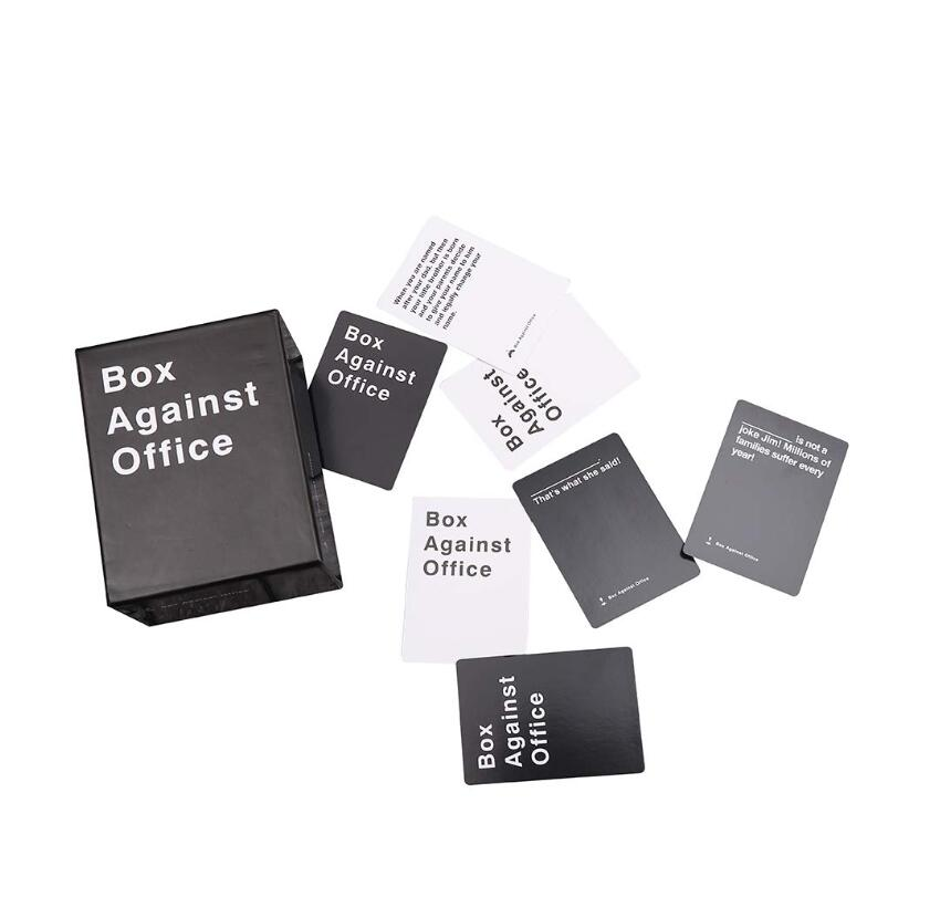 Cads Against The Office Game Box Against Office Board Game With 352 Cards - Party Game