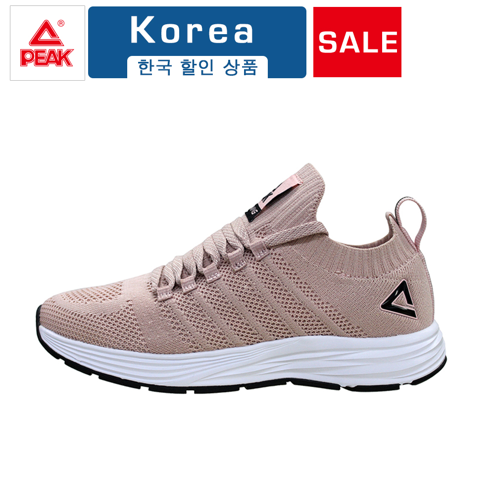 PEAK New Women Ultralight Breathable Running Shoes Comfortable Outdoor Sports Jogging Walking Female Sneakers