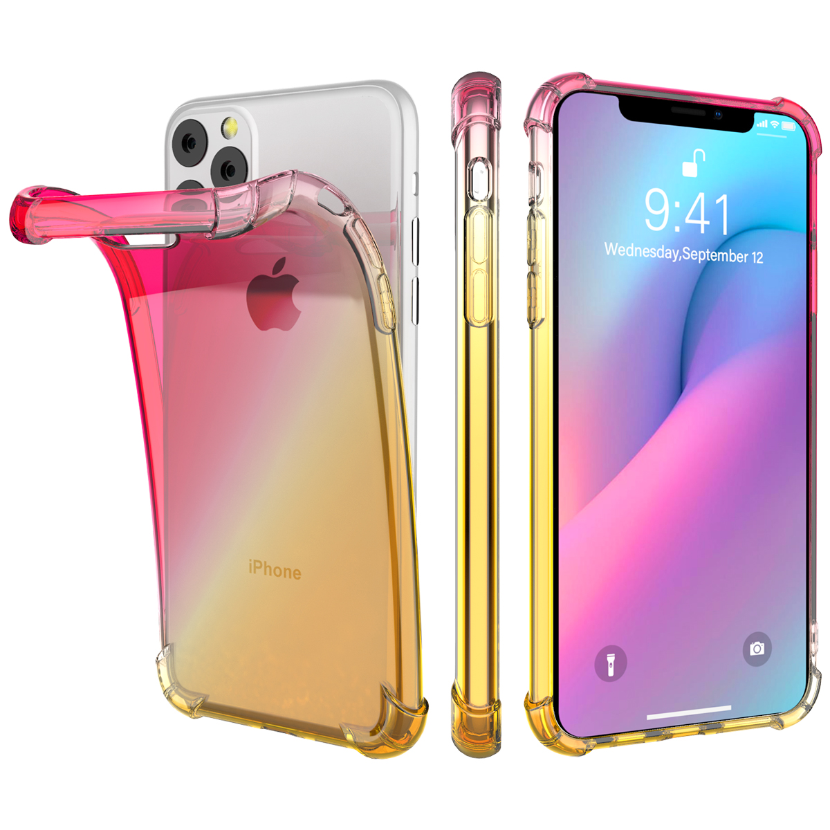 Gradient Soft TPU Case for iPhone 11/11 Pro/11 Pro Max 2