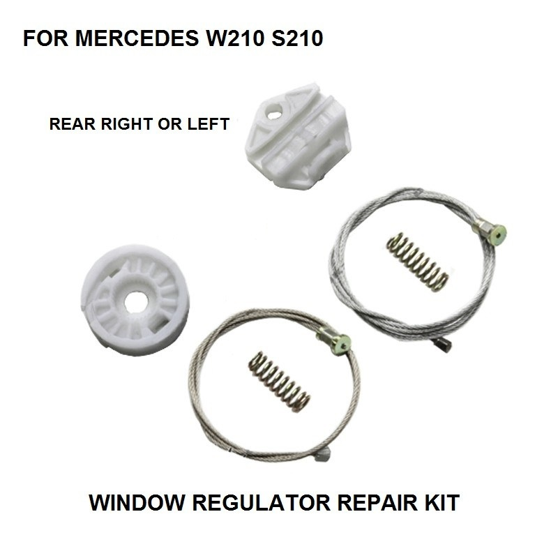 ELECTRIC WINDOW KIT FOR MERCEDES W210 S210 ELECTRIC WINDOW REGULATOR REAR LEFT-RIGHT 1995-2003
