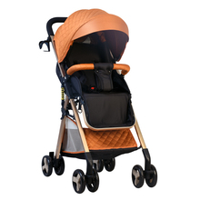 Baby stroller can sit and lay super light portable simple fo