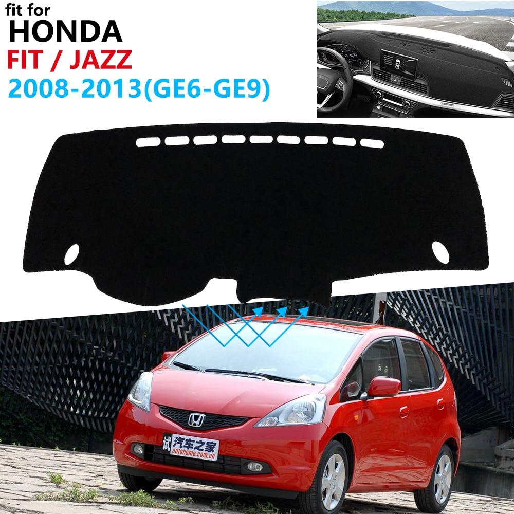 Dashboard Cover Protective Pad For Honda Fit Jazz 2008~2013 Car Accessories Dash Board Sunshade Carpet GE6 GE7 GE8 GE9 2010