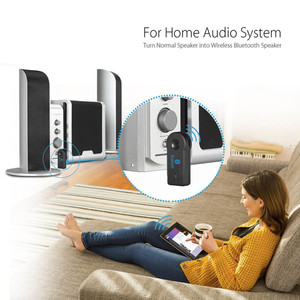Image 5 - VIKEFON Bluetooth Audio Receiver Stereo 3.5mm Jack AUX Bluetooth Adapter MP3 Car Transmitter Wireless Speaker Headphone Adapter