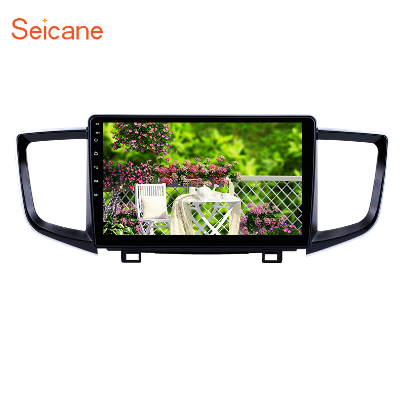Seicane 2Din Car Radio Android 8.1 car Multimedia Player Stereo <font><b>for</b></font> 2016 2017 2018 <font><b>Honda</b></font> <font><b>Pilot</b></font> support Mirror Link OBD2 WIFI <font><b>GPS</b></font> image