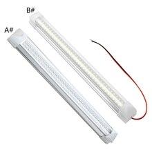 2x 108 LED Auto Innen Weiß Streifen Licht Bar Auto Innen Lampe für t.u.k.Camper