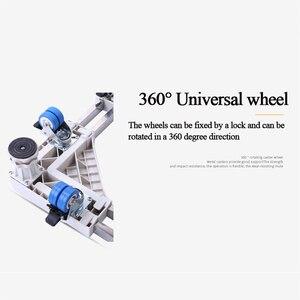 Image 4 - Soporte móvil para frigorífico con ruedas de freno, soporte móvil para máquina de lavado, 4 pies fuertes, 500kg