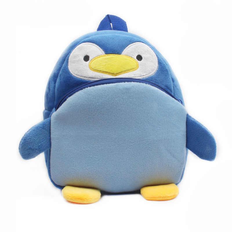 Kids 3D Animal Backpacks Baby Girls Boys Toddler Schoolbag Children Cartoon penguin Bookbag Kindergarten Toys Gifts School Bags