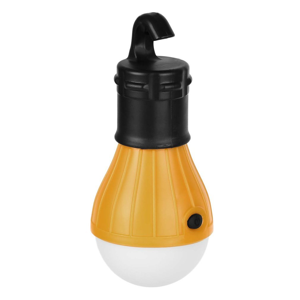 New Portable LED Lantern Tent Light Bulb For Camping Hiking Fishing Emergency Lights With 3 AAA Batteries Tent Lamp