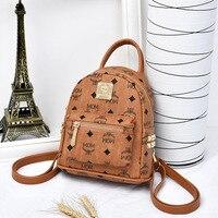 High Quality Waterproof Backpack Women Luxury Pu Leather Backpack Multi Pocket Travel Backpacks Female Mini Backpacks for Girls