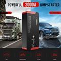 Высококачественное пусковое устройство Yaber YR700 2000A, пусковое устройство для экстренного запуска автомобиля, внешний аккумулятор, автомобил...