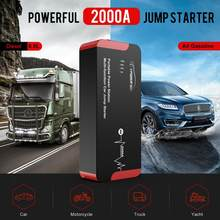 Yaber YR700 wysokiej jakości 2000A urządzenie do awaryjnego uruchamiania awaryjne urządzenie do uruchamiania awaryjnego samochodu urządzenie do awaryjnego uruchamiania Power Bank baterii Auto Booster 22000mAh 100W AC wyjście