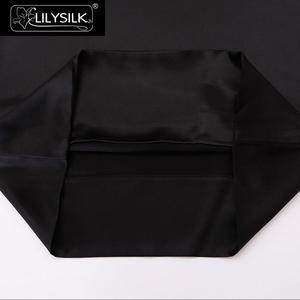 Image 5 - LilySilk 100 משי ציפית טבעי עבור שיער יוקרה תמציתי 25 Momme תות משי 40x40 50x90cm 50x50 בית טקסטיל משלוח חינם