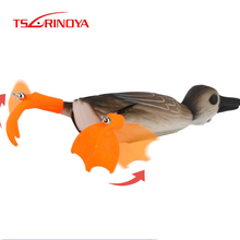 TSURINOYA NEW Top Water DUCK Frog Fishing Lure 18.5g 10cm 3D Eyes Simulation Floating Artificial Baits Bass Snakehead 1pcs