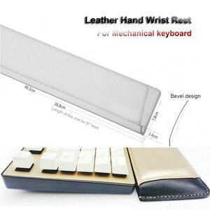 Image 2 - Heculas reposamuñecas de cuero para teclado mecánico 87/104/108, alfombrilla para el ratón de diseño