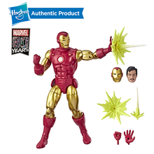 Hasbro Marvel Legends Series 80th Anniversary 6 Classic Iron Man Tony Stark inch Vintage Comic-Inspired IRO Action Figures